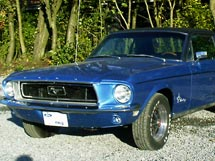 Renovering af Ford Mustang Coupe 1968