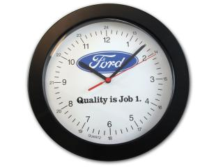 Ford oval on white face 10¨