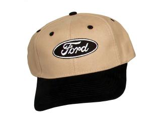 Black and tan Ford logo